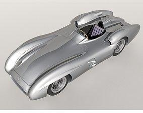 3D model Mercedez W196 Monza 1954