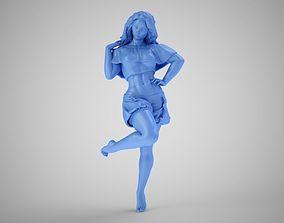 3D print model Pretty Lady at Home