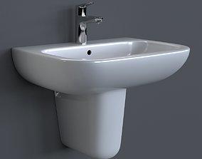 Duravit D-Code Washbasin 3D model