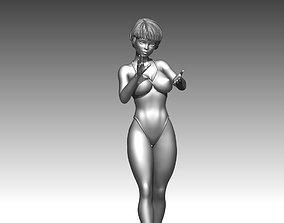 Woman body fashion sculptures 3D print 3D model