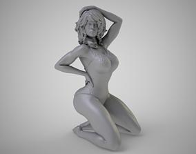 3D print model beauty Fascinating Woman