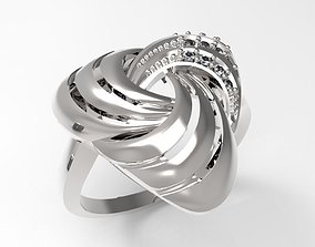 Ring Triad STL 3D print model