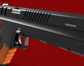 gun weapon bullet war police 3D