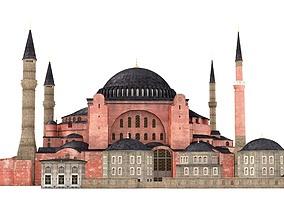 3D model Hagia Sophia Ayasofya