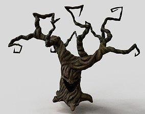 Creepy tree 3D asset