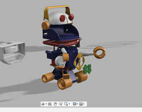 3D print model Toy Story One Robot