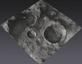 3D model Large-Scale Moon Environment - Craters