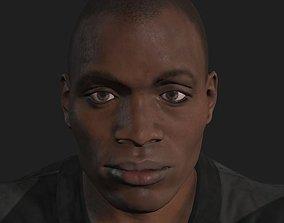 black male 3dmodel VR / AR ready