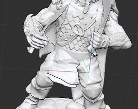 3D print model Cat Warrior