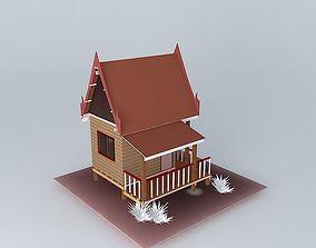 3D Monastery Cell