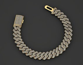 10 MM MIAMI CUBAN LINK CHAIN 2 ROWS 3D printable model 3