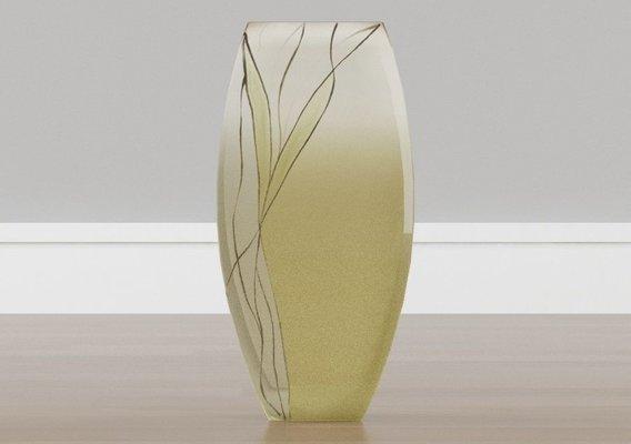 European Design Mouth Blown Decorative Vase