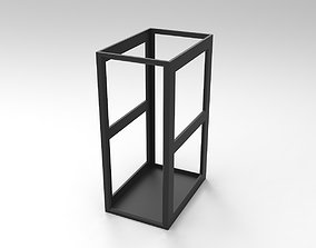 3D model 30RU Rack Block