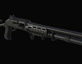 3D model Benelli M4 Shotgun