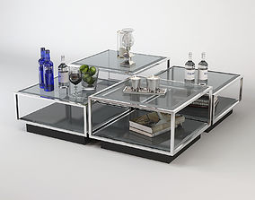 Eichholtz Coffee Table Tortona Set 3D model