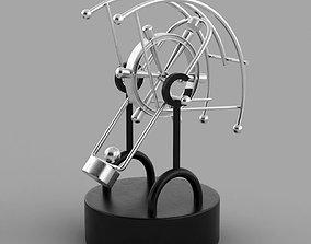 3D Kinetic desk sculpture