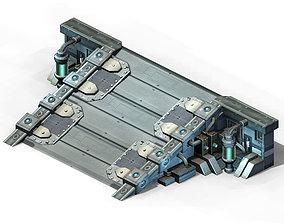 Mechanical Building - Slope 02 3D