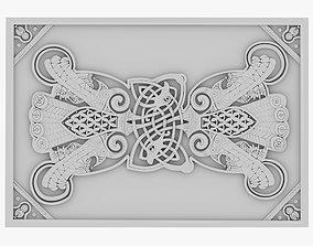 Celtic Ornament 13 3D model