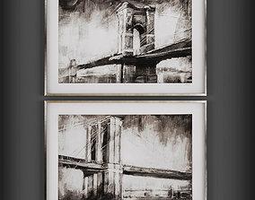 3D asset realtime paint Picture Frames