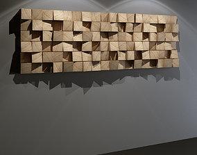 3D model Multifuser Diffuser - recording studio wall panel