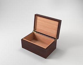 Wooden Box 3D PBR stash