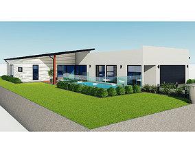 Australian House 3 3D model