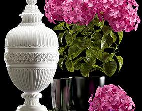 Flower Vase Set 3D