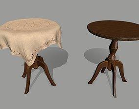 3D asset VR / AR ready Table coffetable