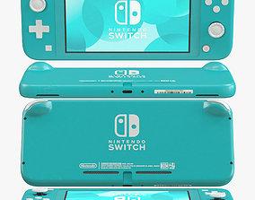 Nintendo Switch Lite - Turquoise 3D