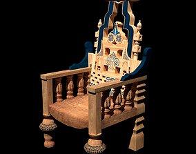 3D model Eastern Throne