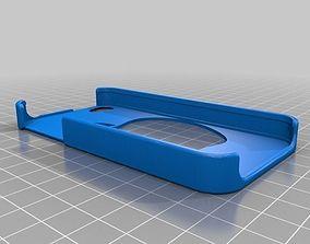 3D print model Apple logo iphone 4 case