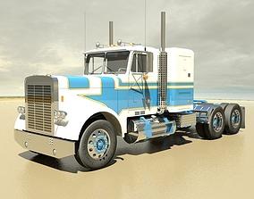3D FLC Semi Truck