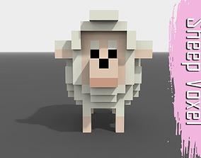 3D model Voxel Sheep