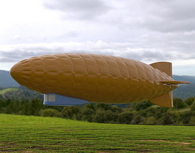 Zeppelin - airship 3D printable model
