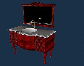 3D model Bathroom sink 4