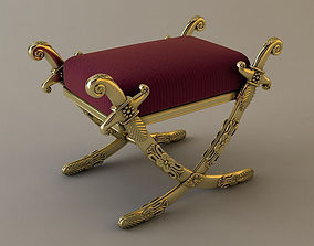 Ottoman 3 3D model