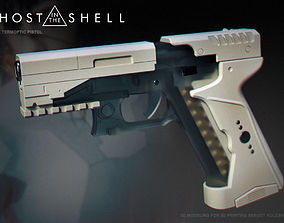 Ghost in the shell -Major termoptic 3D print model