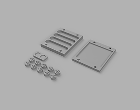 Magic The Gathering Counters with 3D printable model 4
