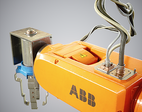 Industrial Robot 120 3D asset