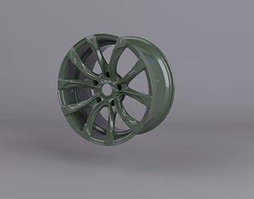 3D print model scan of cast disk point cloud