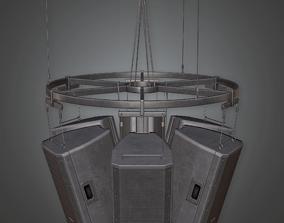 HSG - School Announcement System 02 - PBR Game 3D asset