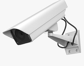 3D model CCTV Camera surveillance