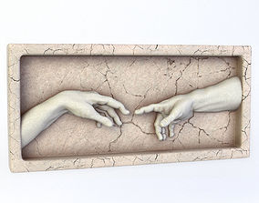 3D The Creation of Adam