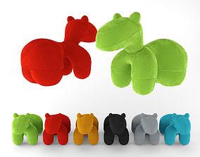 3D model Eero Aarnio - Pony chair