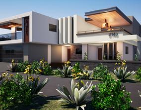 3D Four Bedroom House