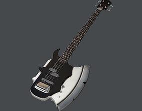 3D model Guitar - Gene Simmonds from KISS