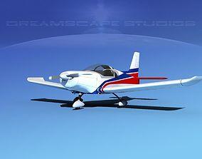 Zlin Z 242 V01 3D model