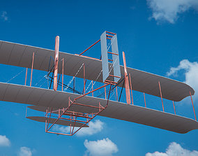 the Wright Flyer 3D model