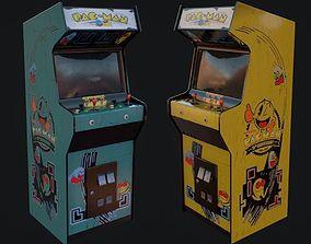 Arcade Machine Low Poly 3D model