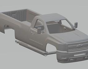 Silverado 2011 Printable Body Truck